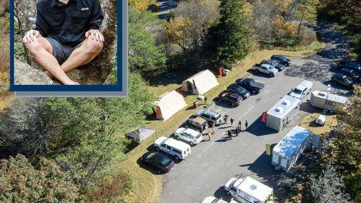 Search teams located the body of missing hiker Chad Seger at about 3 p.m. Oct. 20.