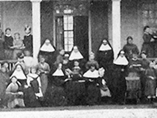 The Opelousas Ursuline Convent pictured on Convent