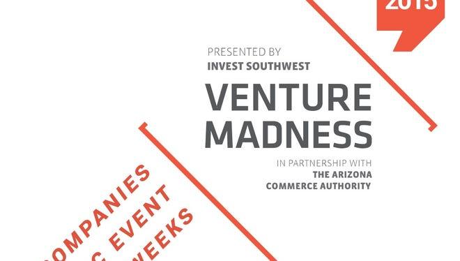 Arizona startups will compete in March 2015 in Venture Madness.