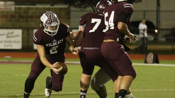 Check out where Becton and quarterback Michael Bolwell