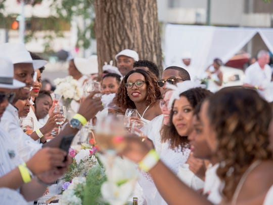 August 4, 2018 - Scenes from Le Dîner en Blanc event