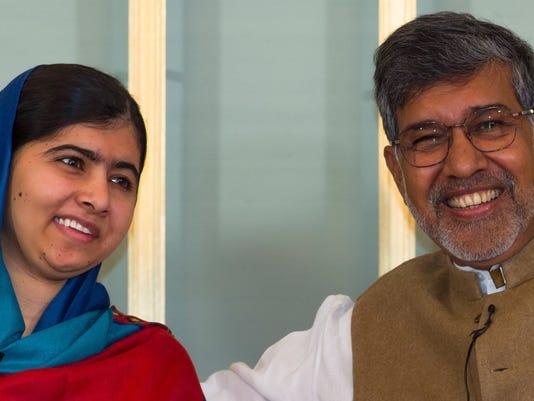 Nobel Peace Prize Press Conference 2014