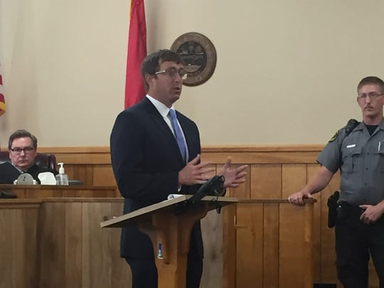 Defense Attorney Chase Smith admitted his client committed
