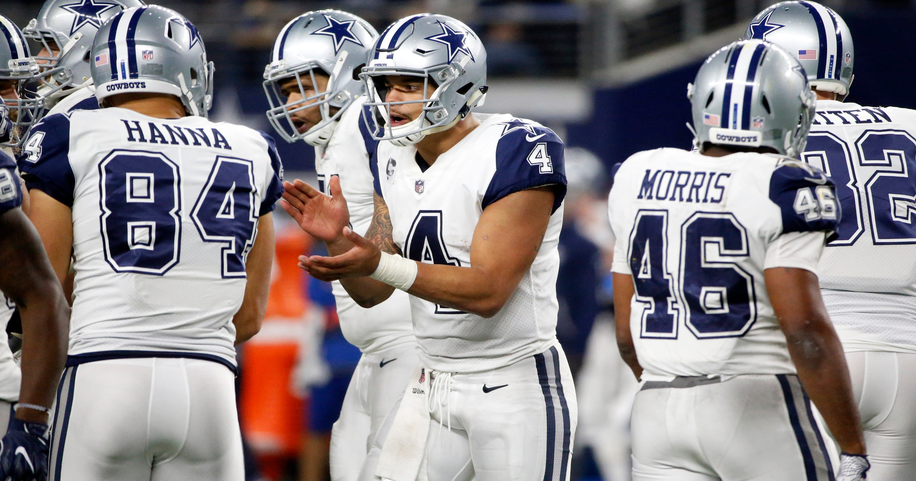 4447c6f3c Prescott embraces  playoffs start now  mentality for Cowboys