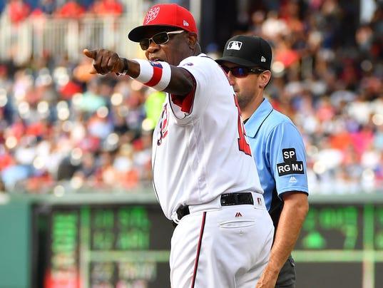 USP MLB: CHICAGO CUBS AT WASHINGTON NATIONALS S BBN WAS CHC USA DC
