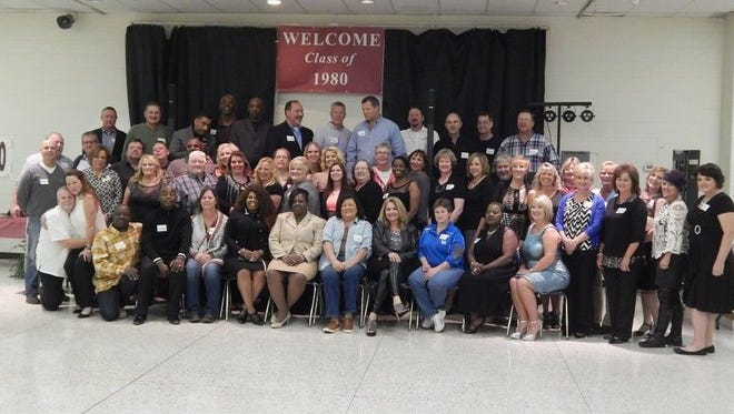 The class of 1980 held their 35-year reunion in the summer of 2015.
