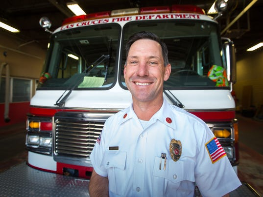 Fire Chief Travis Brown Retiring 1