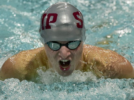 Sam Nonemaker and the Shippensburg swim team will take on Northern York on Tuesday in a Mid Penn Colonial Division clash.