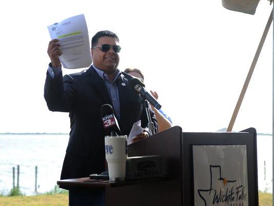 Lake Wichita excavation permit approved