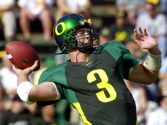 Oregon quarterback Joey Harrington.