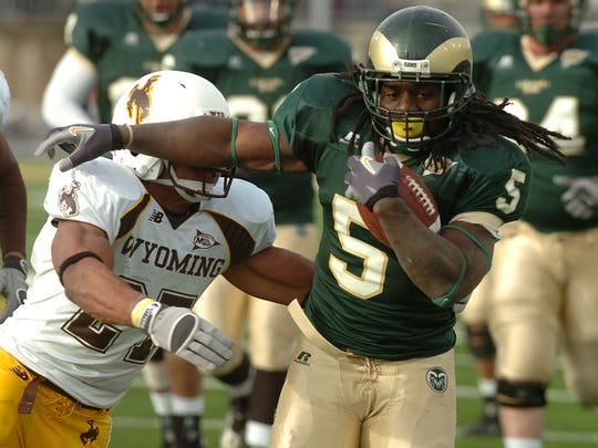 Gartrell Johnson's 2008 season was one of the best for a running back in CSU history.