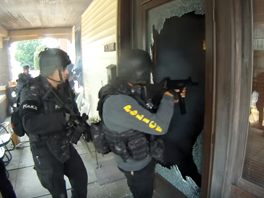Evansville Police Department SWAT