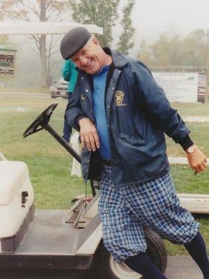 Bob Bronson had a passion for golf.