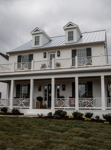 The House For Hope is a modern farm house built by Carbine & Associates in the new Southern Preserve boutique neighborhood in Franklin. All profits from the house go to children's charities.