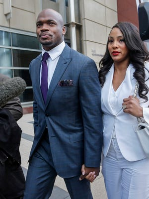 Minnesota Vikings running back Adrian Peterson wants out of Minnesota, according to his agent.