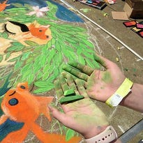 Chalk Walk returns for 10th year in Market Square