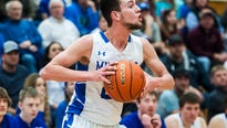 Nate Costin and Ostin Welch combine for 62 points in Mustang state semifinal win