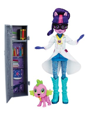 "Comic-Con attendees can get a special Twilight Sparkle doll from the ""My Little Pony Equestria Girls"" franchise."