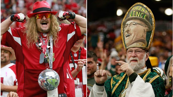 The Cardinals host the Packers in an NFC Divisional playoff game in Glendale.