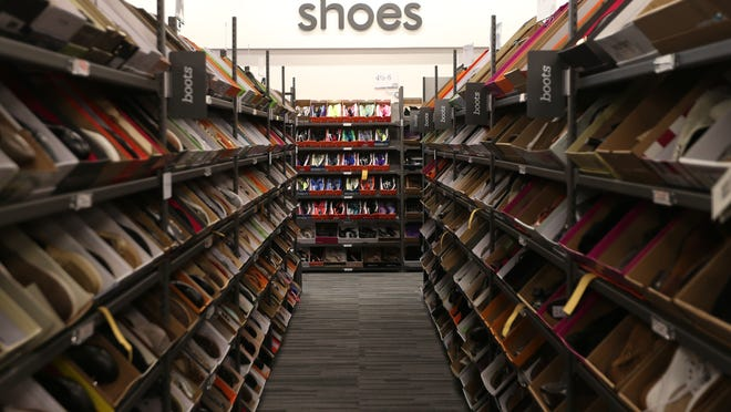 A large assortment of shoes for both men and women are available at the new Nordstrom Rack location, opening in the Jordan Creek area of West Des Moines.