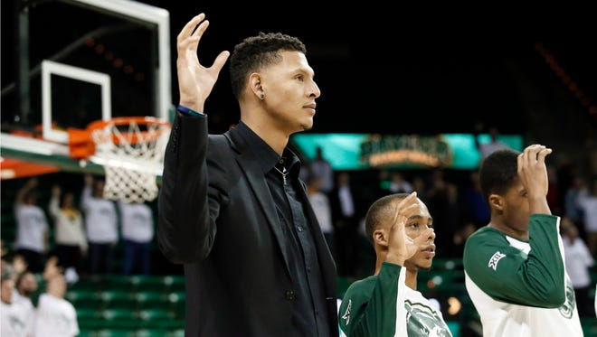 Former Baylor basketball player Isaiah Austin had his career cut short due to his heart condition.