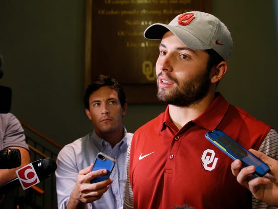 Baker Mayfield had to answer for his arrest in Arkansas