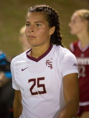 Florida State freshman midfielder Emiy Madril has already