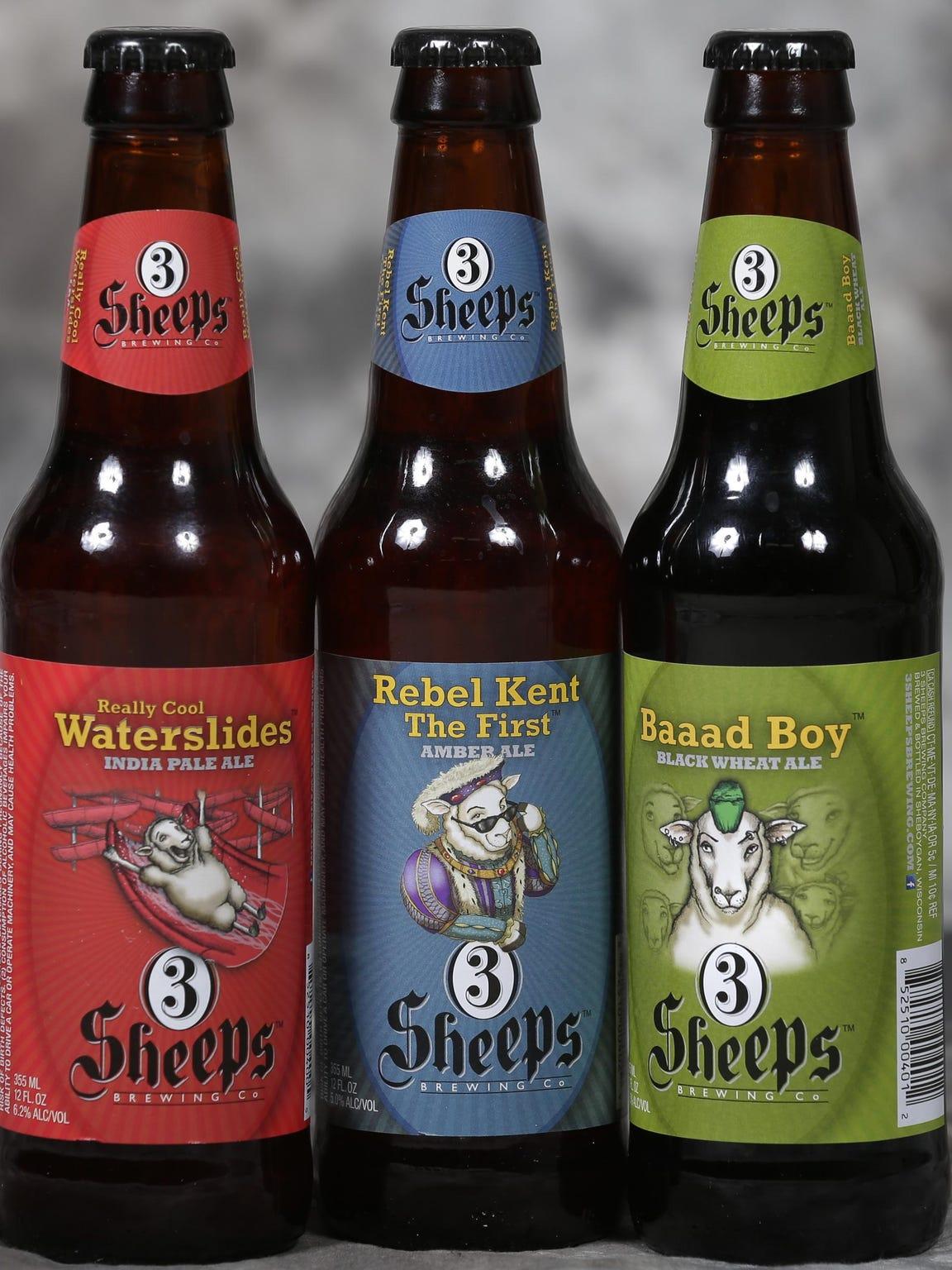 Sheboygan brewery 3 Sheeps Brewing will have their
