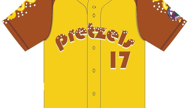 The York Revolution will become the York Pretzels for a day this season.