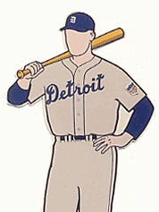 This is the uniform the Detroit Tigers wore circa 1945.