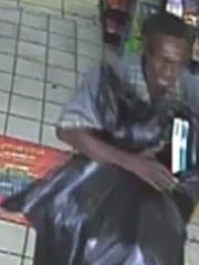 Jackson police believe this man stole cartons of cigarettes