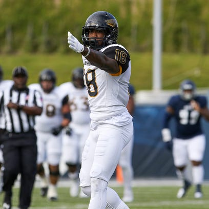 Instead of putting out fires, Korey Robertson is burning defenses for Southern Miss