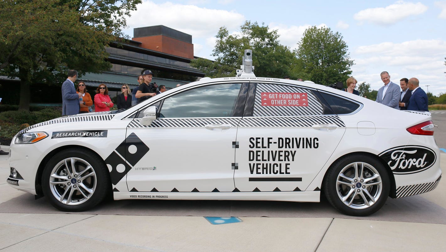 domino 39 s ford to test driverless pizza delivery in ann arbor. Black Bedroom Furniture Sets. Home Design Ideas
