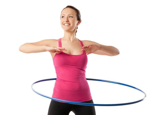 Adults need adult-size hoops that are larger in diameter
