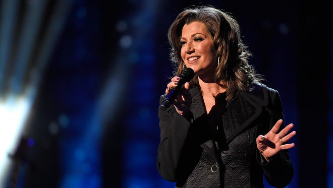 Amy Grant performs at the CMA Country Christmas at the Opry House.  Tuesday Nov. 8, 2016, in Nashville, Tenn.
