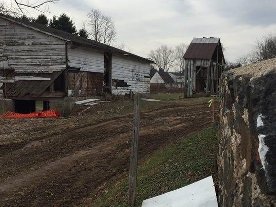 The historic Coffee Run Barn along Del. 48 will be