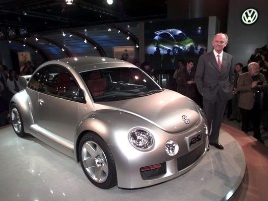 Volkswagen AG chairman, Dr. Ferdinand Piech, poses