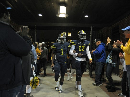 If you can't make it to Cookeville to watch Eric Gray (1), Sky Forrest and Lausanne play for the Division II-AA state title on Dec. 2, you can catch the game on WLMT.
