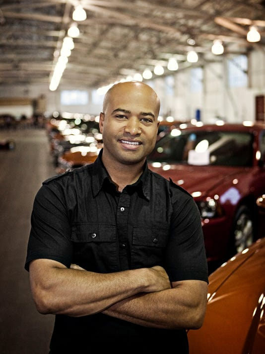 Ralph Gilles, head of design for Fiat Chrysler Automobiles
