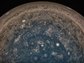 NASA's Juno spacecraft took this image directly over