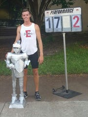 ECS grad Drew McMichael broke the all-time Florida record in the pole vault on Saturday in Jacksonville.
