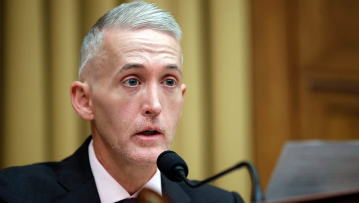 Rep. Trey Gowdy, R-S.C., speaks during an April hearing