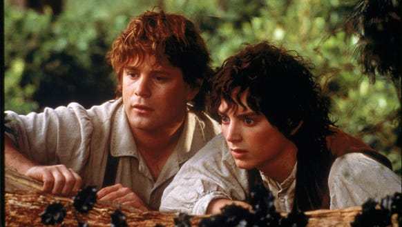 """Sean Astin, left, and Elijah Wood in a scene from """"The"""