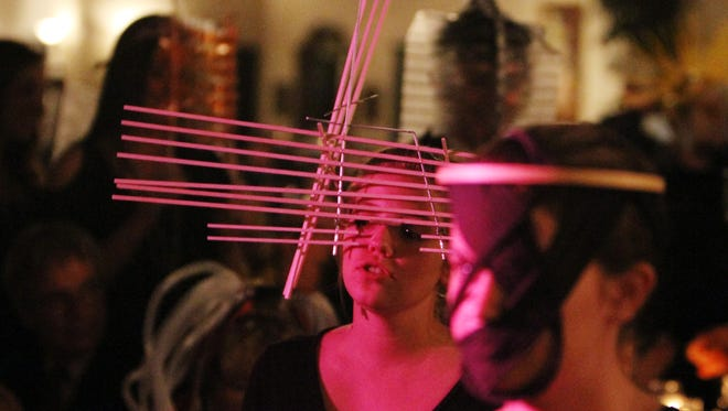 """At the 2011 Beaux Arts Ball, the costumes were highly creative. This year's theme is """"Fire."""" The ball is set for Friday, Oct. 21, at the Atchafalaya Ballroom at  UL's Student Union, 620 McKinley Street."""