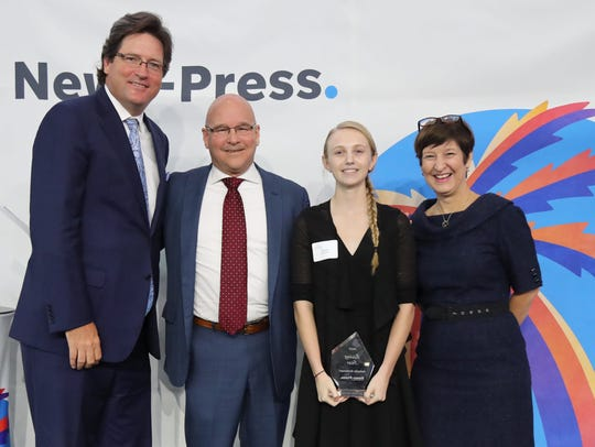 Dunbar High School senior Isabella Andersen was named