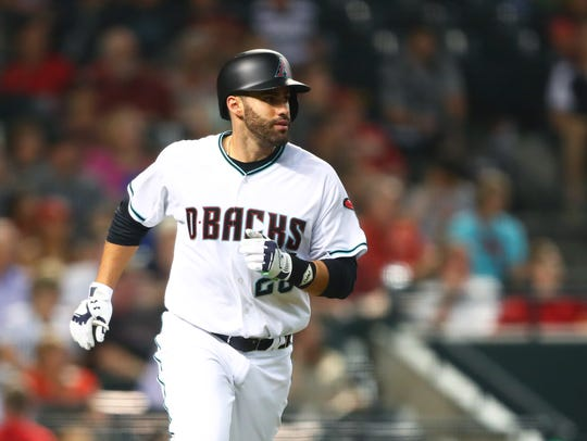 J.D. Martinez's post-trade performance with the Diamondbacks