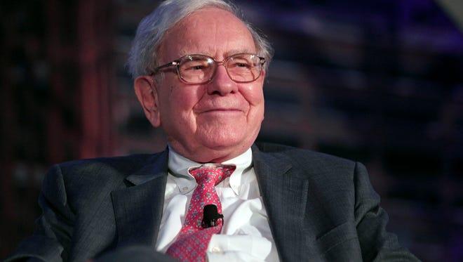 Billionaire investor Warren Buffett is optimistic about 2015.