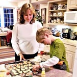 Warm holiday kitchens with the smell of cookies baking, plus their favorite recipes