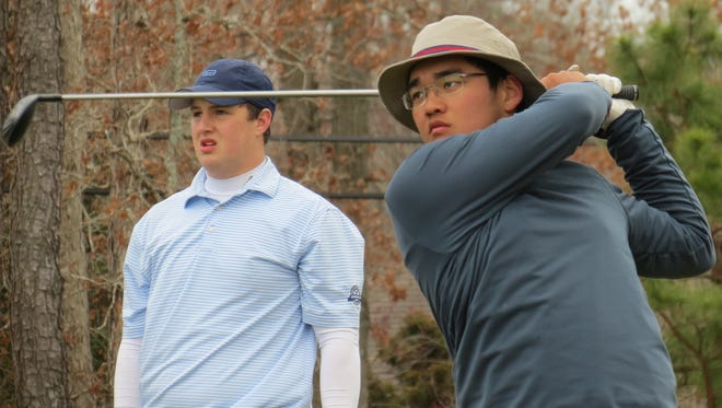 Ryan Lee (right) and NV/Old Tappan will vie for the title at the FDU Invitational after finishing third at the Garden State Cup.
