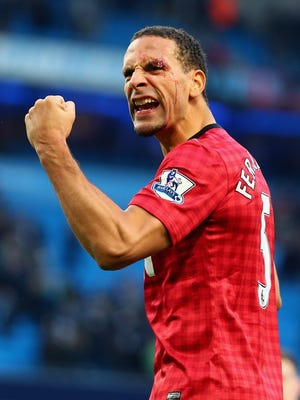 Rio Ferdinand made 312 appearances for Manchester United during a 12-year career with the club.